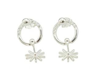 Star Dropdown Earrings