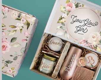 Self Care Spa Gift Set For Her, Spa Gift Box Best Friend, Anxiety Relief Gift For Women, Birthday Gift For BFF, Stress Relief Care Package