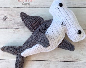 Hammerhead Shark Crochet Pattern