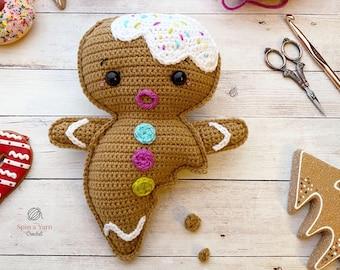 Gingerbread Boy Crochet Pattern