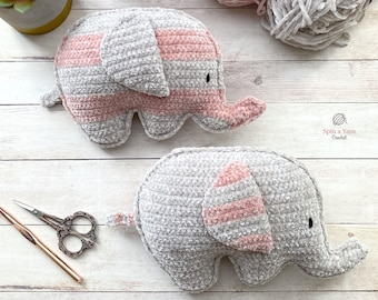 Chubby Elephant Crochet Pattern