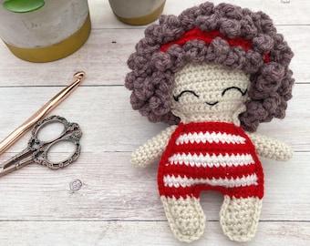 Beach Bum Doll Crochet Pattern