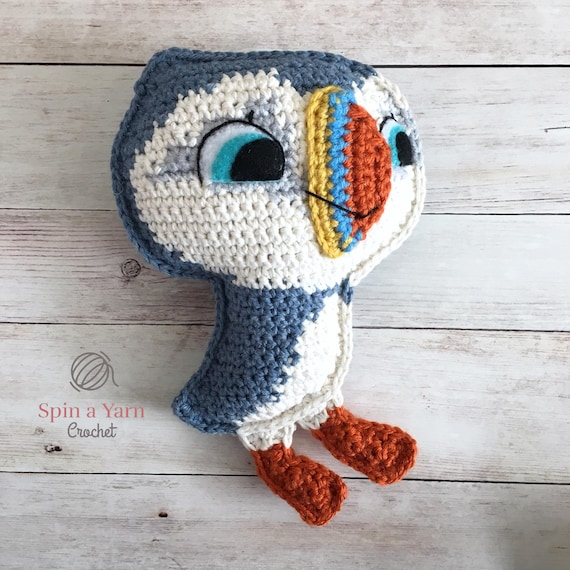Oona The Puffin Crochet Pattern Etsy