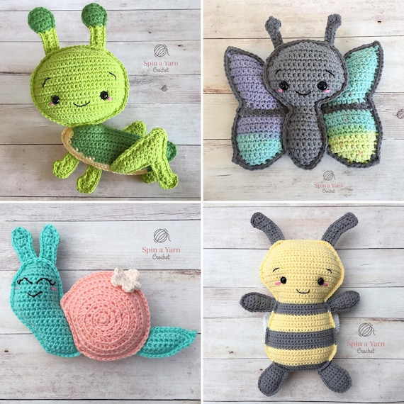 The Critter Collection Crochet Patterns