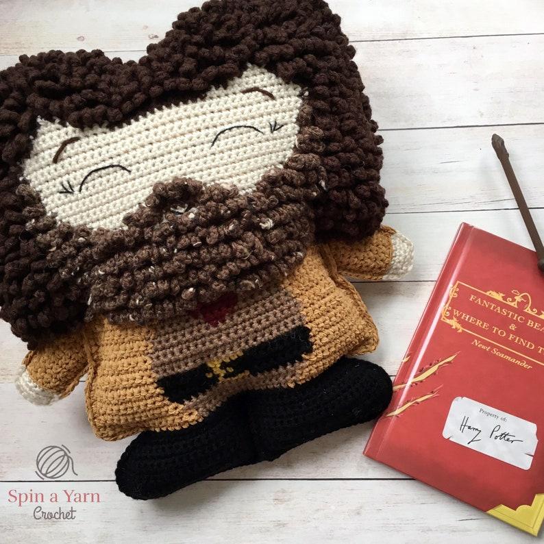 Ragdoll Hagrid Crochet Pattern image 0