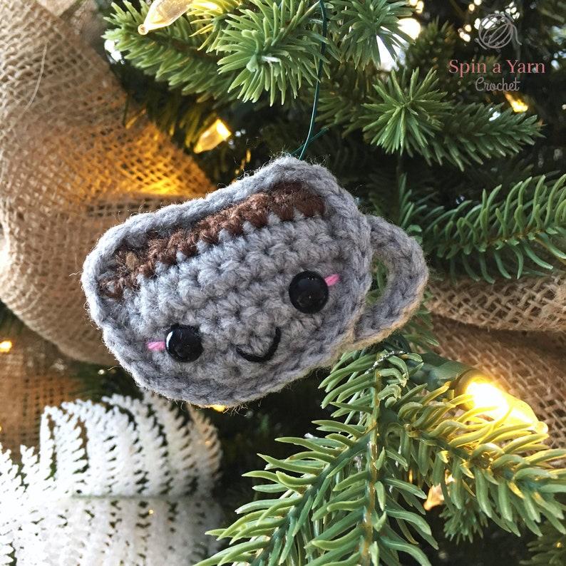 Mug O' Cocoa Ornament Crochet Pattern image 0