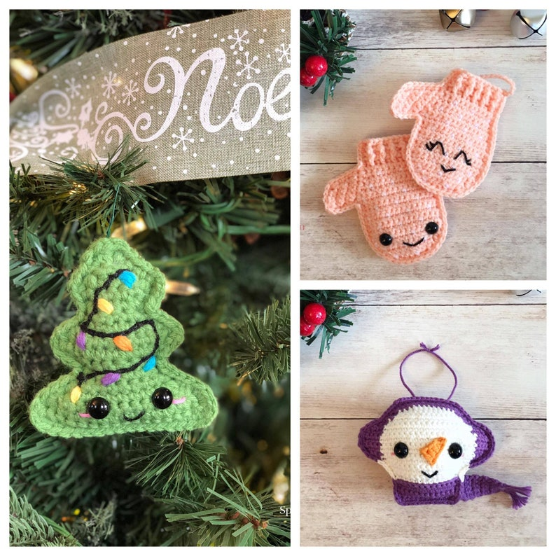 2017 Holiday Ornament Collection Crochet Patterns image 0