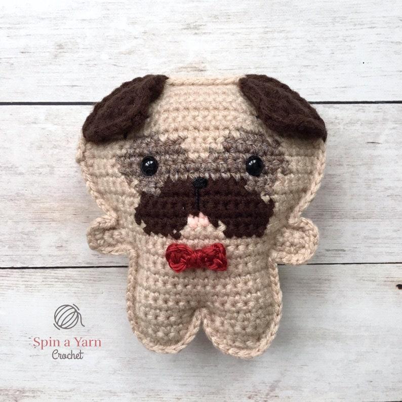 Pocket Pug Crochet Pattern image 0