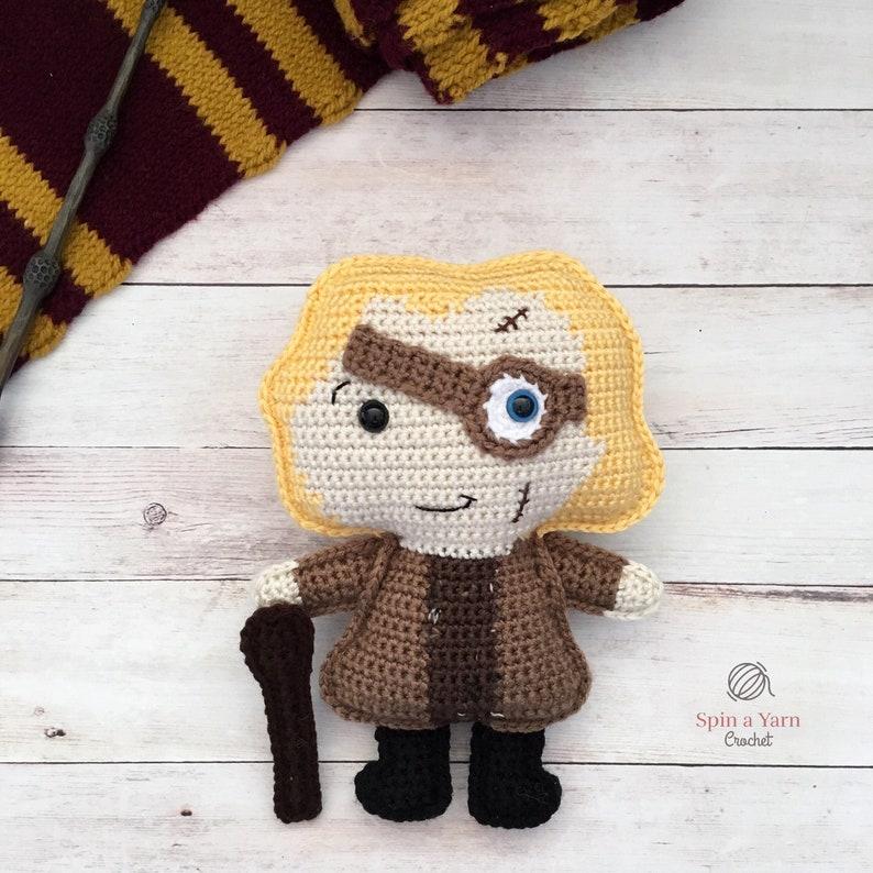Alastor Mad-Eye Moody Crochet Pattern image 0