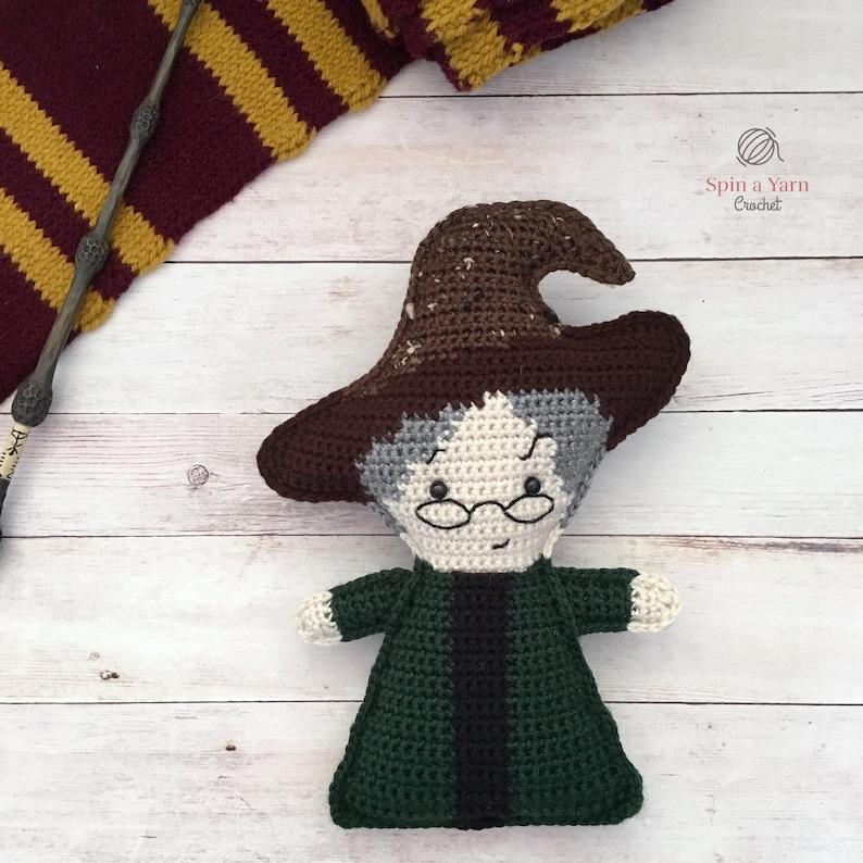 Professor Minerva McGonagall Crochet Pattern image 0