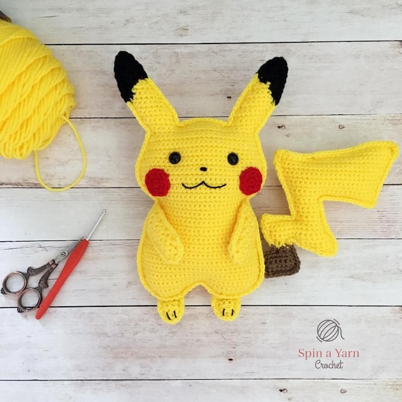 Pikachu Crochet Pattern image 1