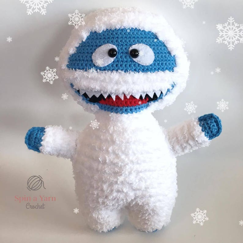 Bumble the Abominable Snowman Crochet Pattern image 0
