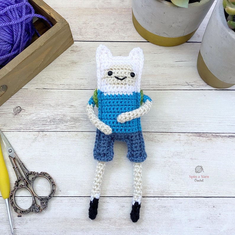 Finn the Human Crochet Pattern image 0