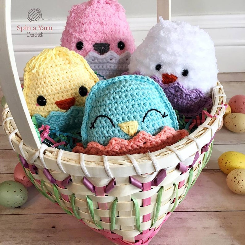 Chubby Spring Chicks Crochet Pattern image 0