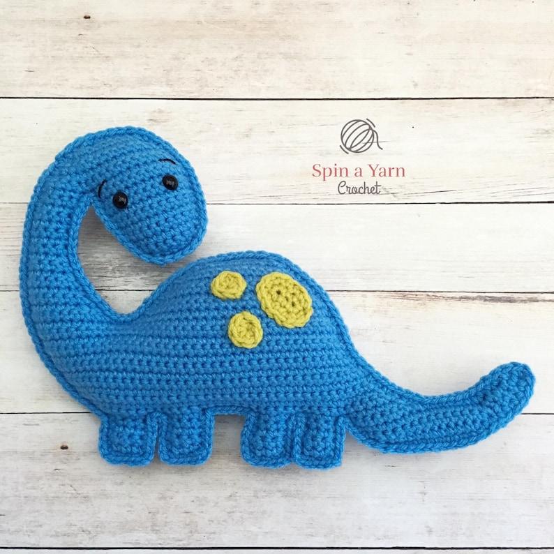 Brachiosaurus Amigurumi Crochet Pattern image 0