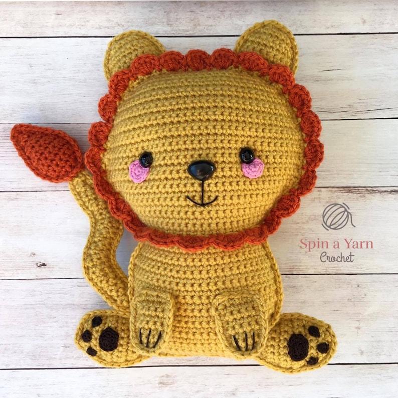 Ragdoll Lion Crochet Pattern image 0
