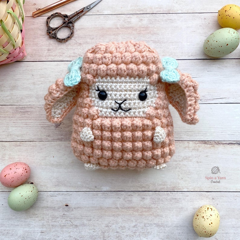 Lamb Amigurumi Crochet Pattern image 0