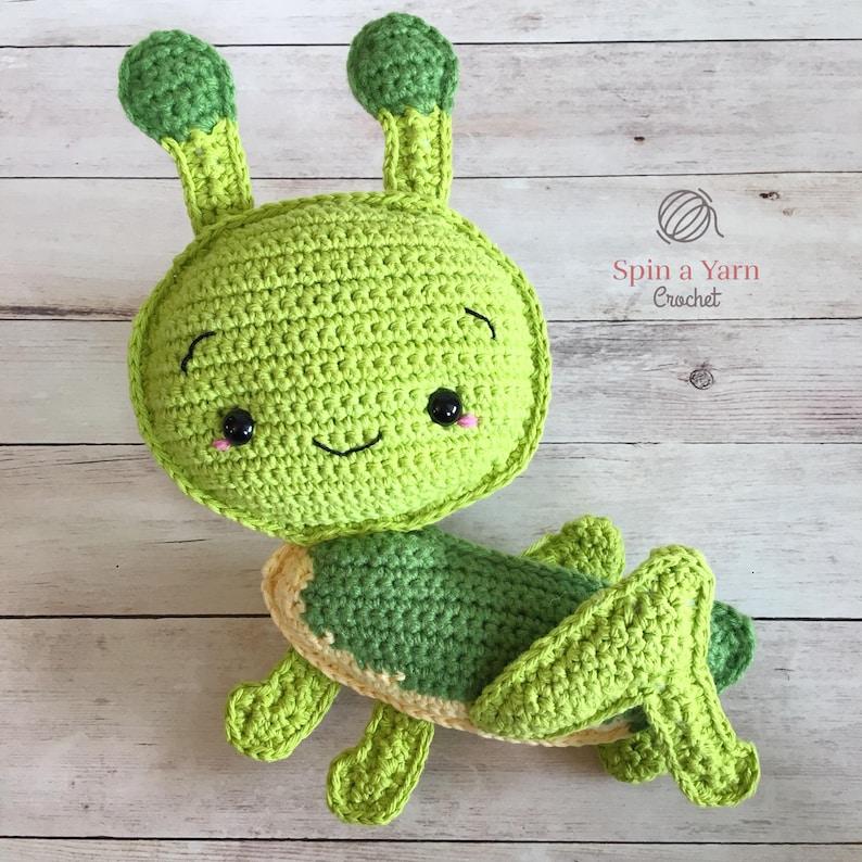 Grasshopper Amigurumi Crochet Pattern image 0