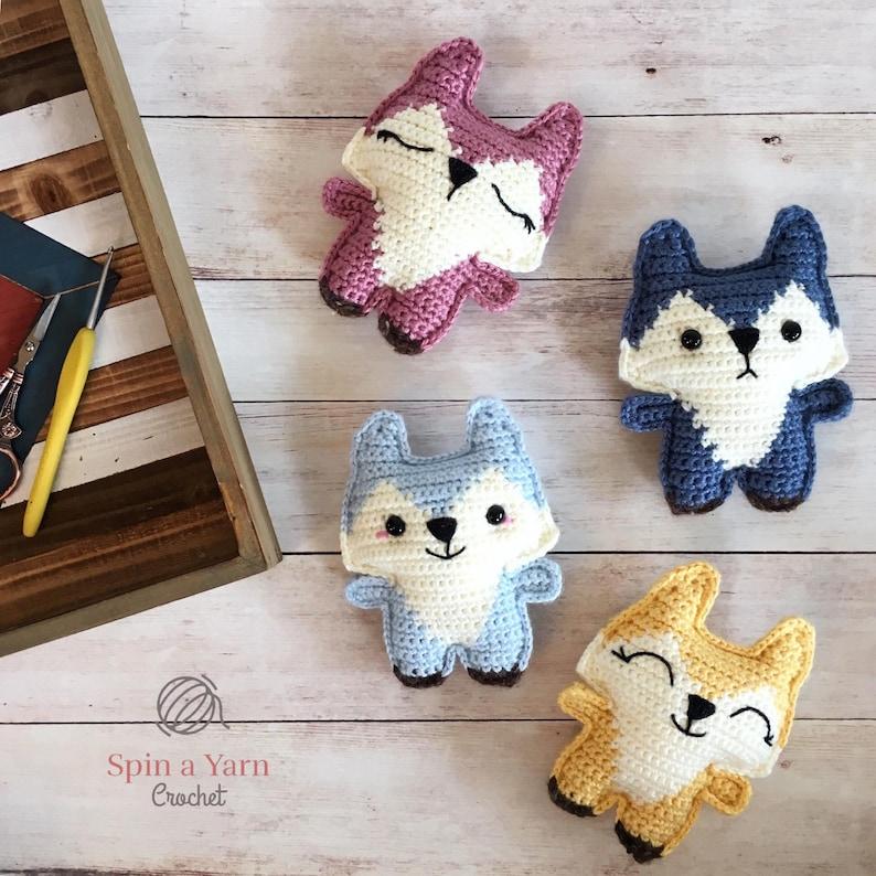 Pocket Fox Crochet Pattern image 0