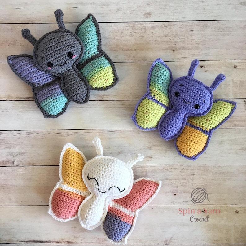 Butterfly Amigurumi Crochet Pattern image 0