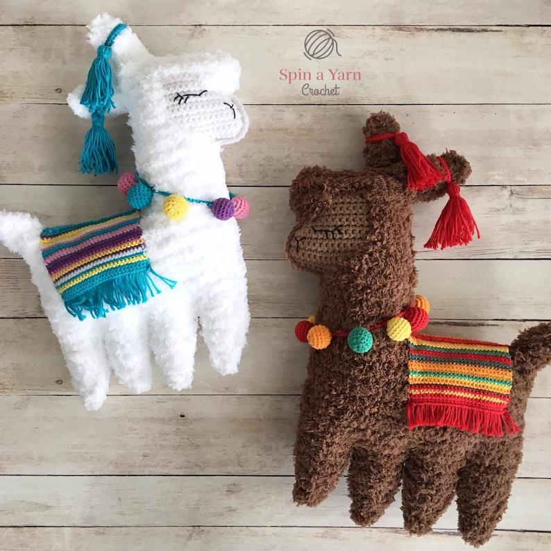 Ragdoll Llama Crochet Pattern image 0