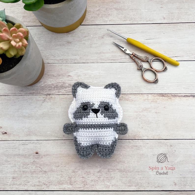 Pocket Panda Crochet Pattern image 0