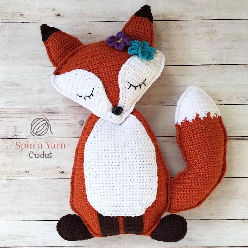 Ragdoll Fox Crochet Pattern image 0