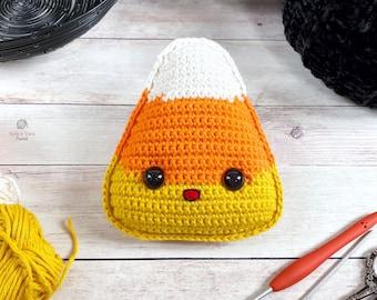 Candy Corn Amigurumi Crochet Pattern