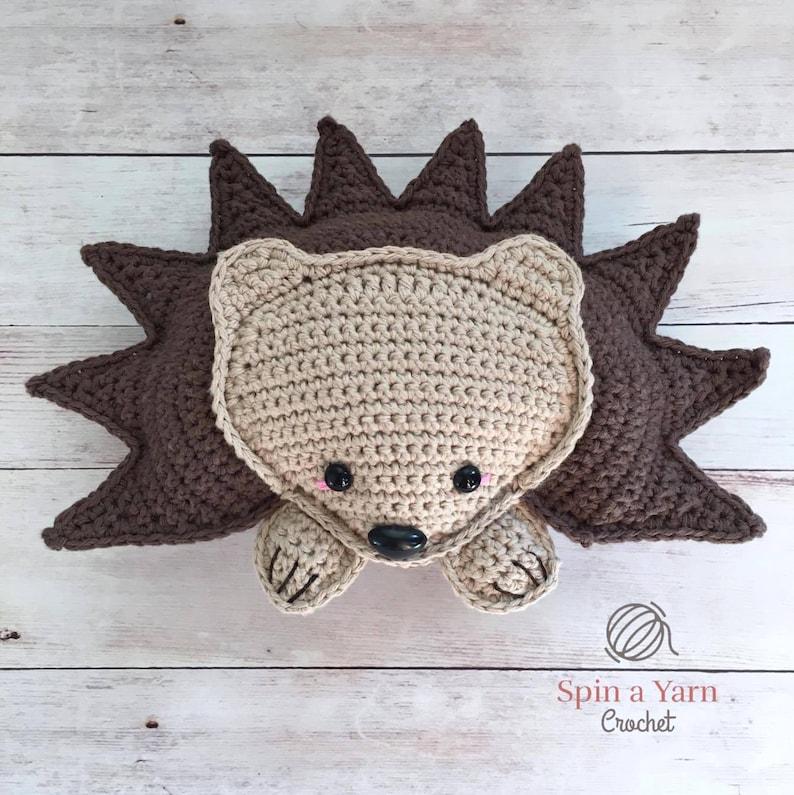 Hedgehog Amigurumi Crochet Pattern image 0