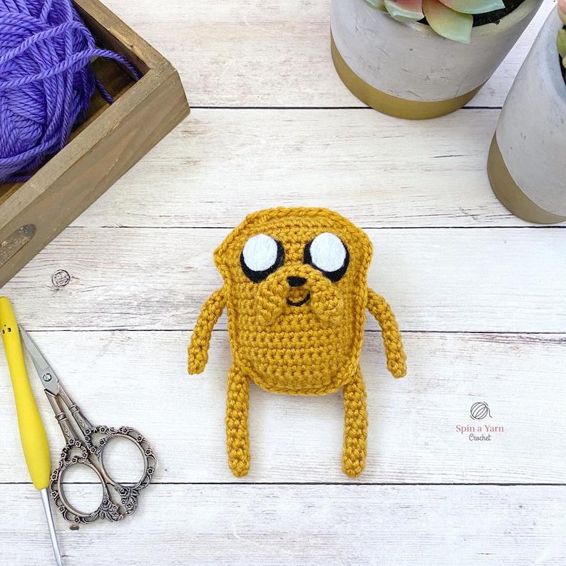 Jake the Dog Crochet Pattern image 0