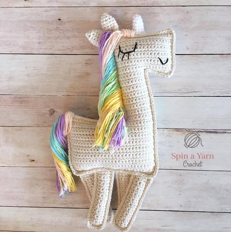 Ragdoll Unicorn Crochet Pattern image 0