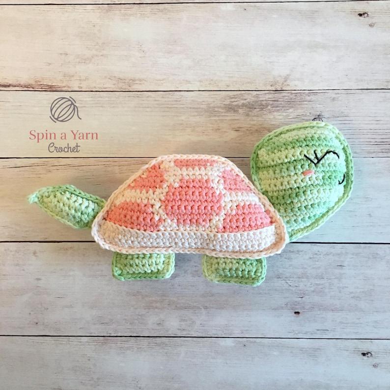 Tilly the Tortoise Crochet Pattern image 0