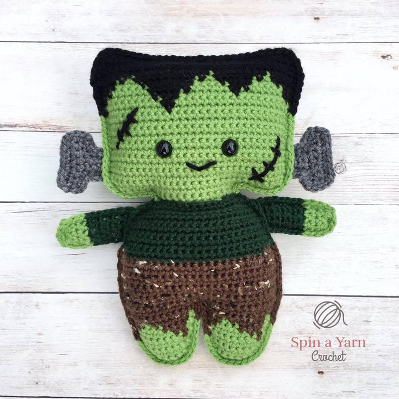 Frankenstein's Monster Crochet Pattern image 0