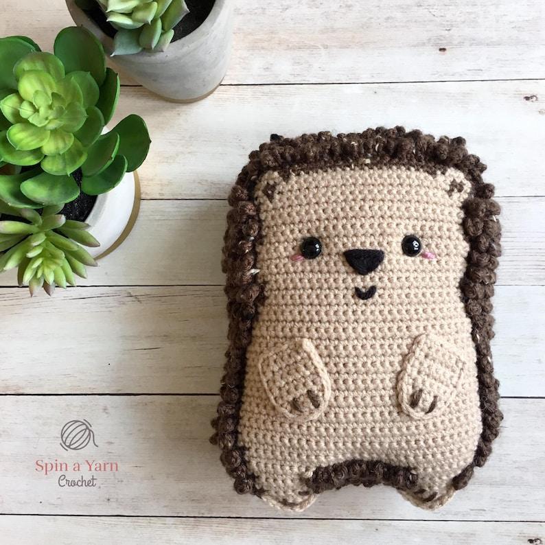 Chubby Hedgehog Amigurumi Crochet Pattern image 0