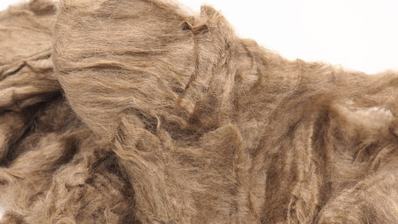 Nuno Felting Weaving and other Craft Projects Spinning 50g Nassi Peduncle Silk Natural Unbleached for Wet Felting