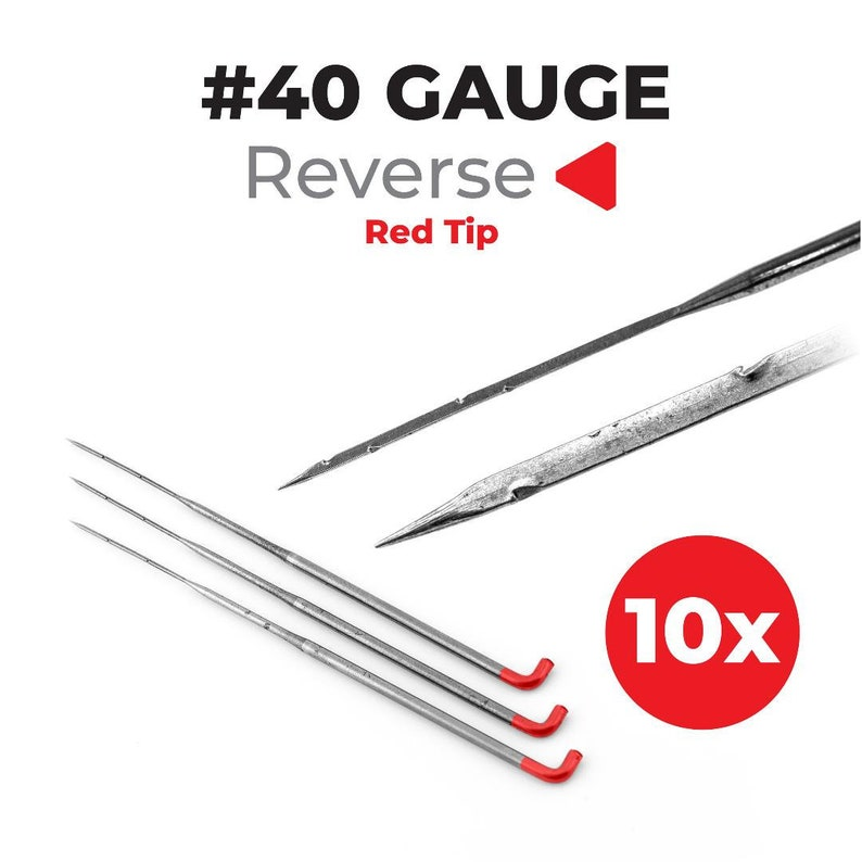 40 Gauge Inverted/Reverse Felting Needles 10-pack For Needle image 0