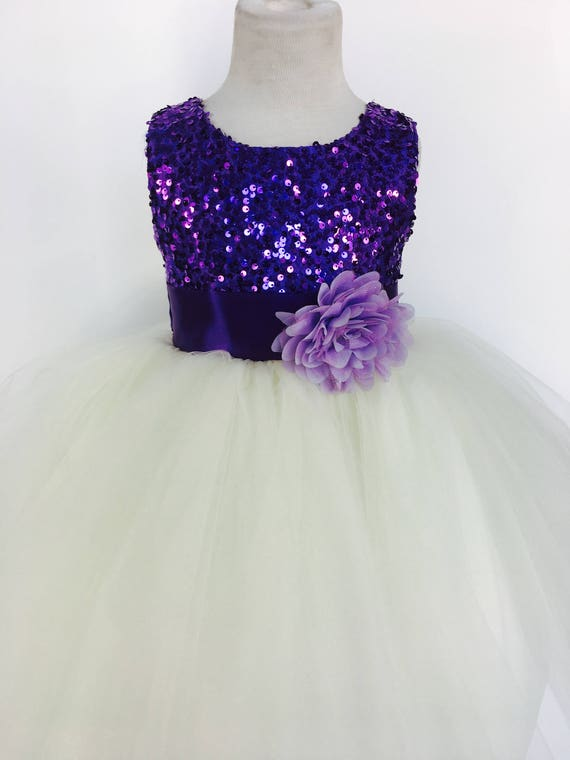 BLUE PINK Flower Girl Dress Wedding Bridesmaid Formal Dance Recital Graduation