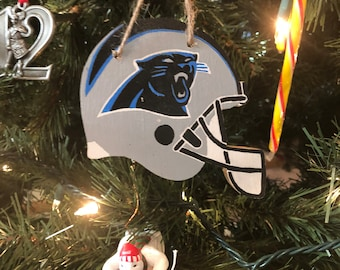 Carolina Panthers Wooden Ornament 4d1d93c86