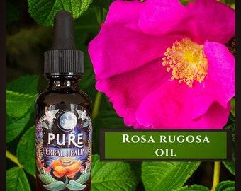 Japanese Beach Rose Natural Apothecary Organic Fragrant Dried Flower Petals Edible Medicinal Wicca Herb Rosa rugosa Rose Bud Petals