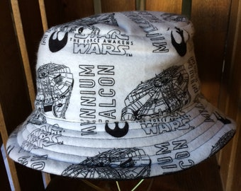 e99556cfe52 Kid s 2X Flannel Star Wars Bucket Hat