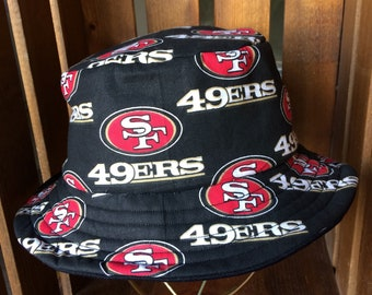 a5b8ea542f24d Kid s Large San Francisco 49ERS Bucket Hat
