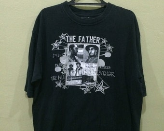 Rare!! Vingate T-Shirt DJ Kool Herc The Father of Hip Hop History True LEGEND!!