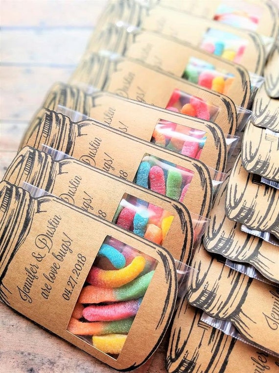 Wedding Favors For Kids Kids Table Wedding Candy Wedding Etsy