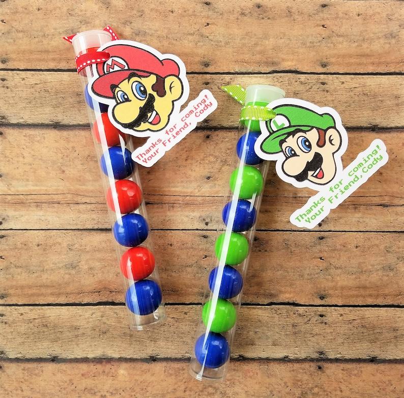 Mario Bros Party Favors, Mario Birthday Party Favors, Super Mario Brothers  Birthday Party Decor, Super Mario Decorations Set of 10