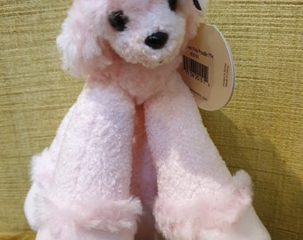 """Funny feet pink Poodle by Bestever  7"""" NEW  ( 18cm)"""