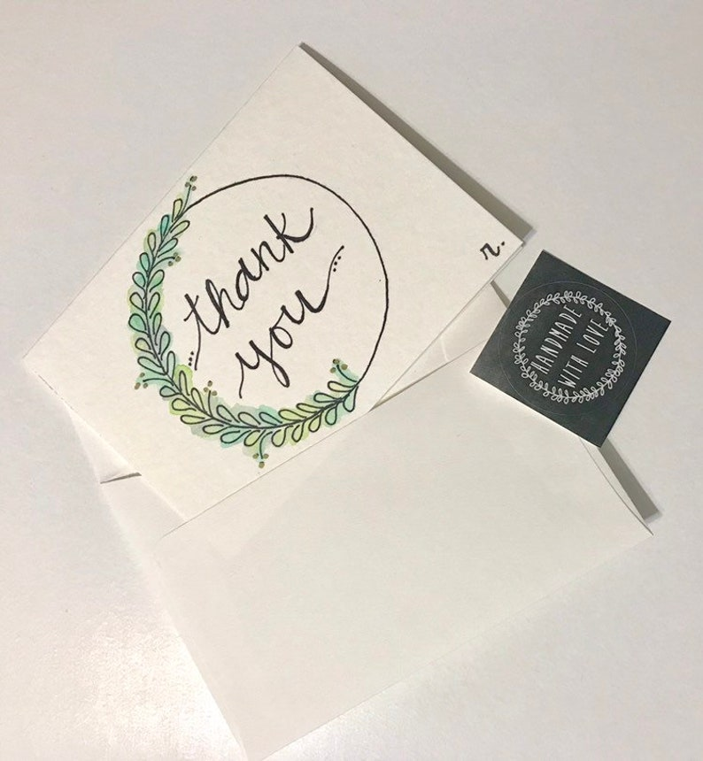 Hello Watercolor Greeting Cards ~Anytime Birthday /& Thank You~