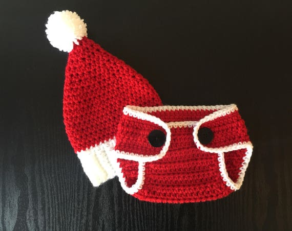 image 0 - Santa Baby Hat Santa Outfit Baby Holiday Outfits For Baby Etsy