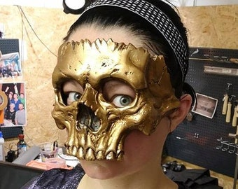 Human Skull- Half-mask