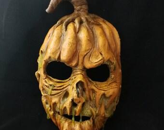 Rotting Pumpkin Halloween Mask