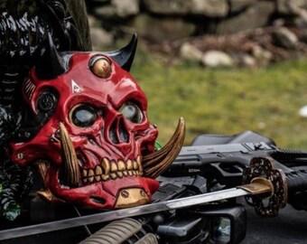 Nurikabe - Cyberpunk/Samurai/Wasteland resin mask